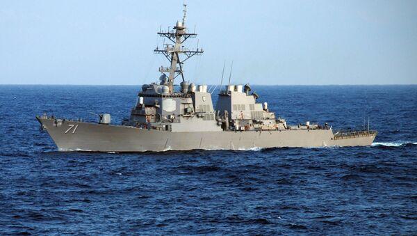 Cacciatorpediniere della Marina USA - Sputnik Italia