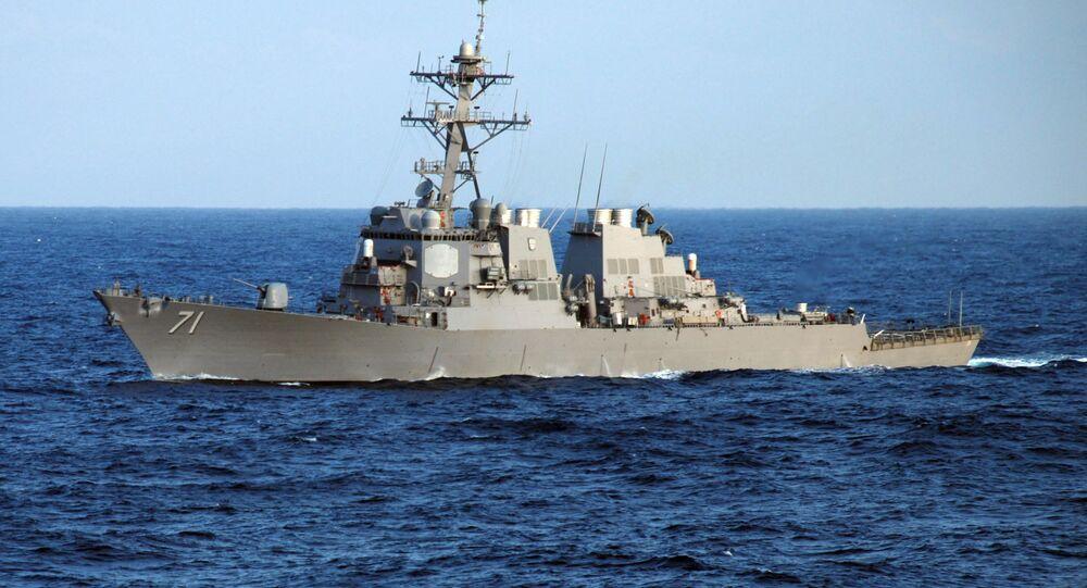 Cacciatorpediniere Ross della Marina USA (foto d'archivio)