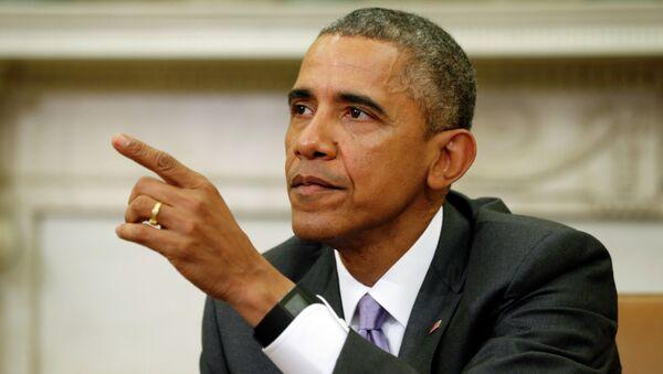 Il presidente americano  Barack Obama vuole passare alla storia come un pacificatore su scala globale. - Sputnik Italia