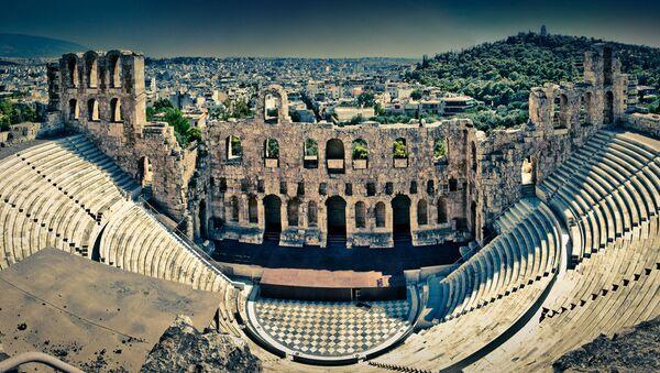 The Odeon of Herodes Atticus, Athens, Greece - Sputnik Italia