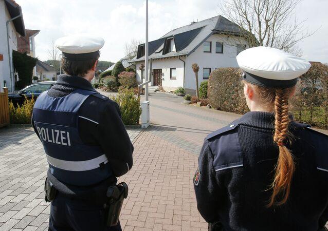 La casa di Andreas Lubitz a Montabaur, Germania