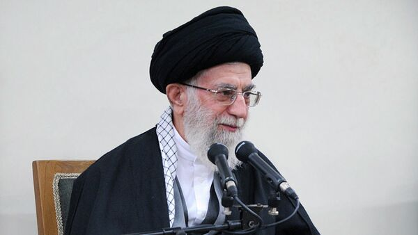 Il Leader spirituale iraniano  Ayatollah Ali Khamenei - Sputnik Italia