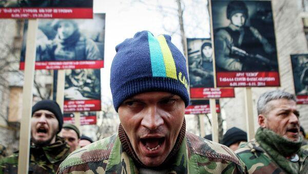 Attivisti di Pravy Sektor - Sputnik Italia