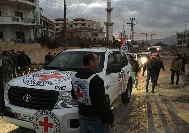 Croce Rossa a Madaya, Siria
