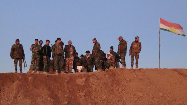 Iraqi Kurdish peshmerga fighters - Sputnik Italia