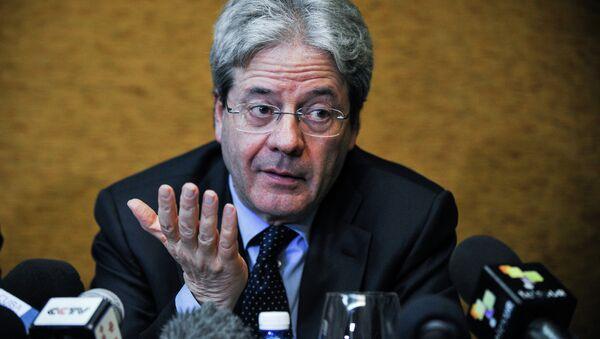 Il ministro degli Esteri italiano Paolo Gentiloni - Sputnik Italia