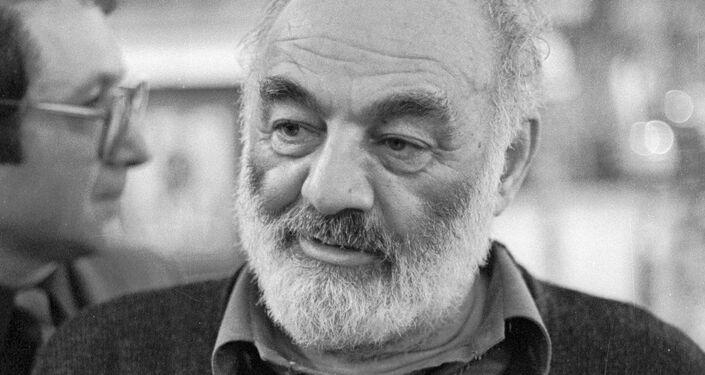 Il regista Serghei Paradzhanov