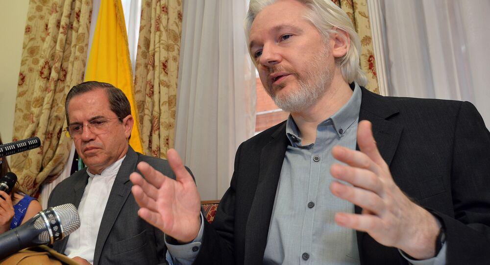 Il fondatore di WikiLeaks Julian Assange