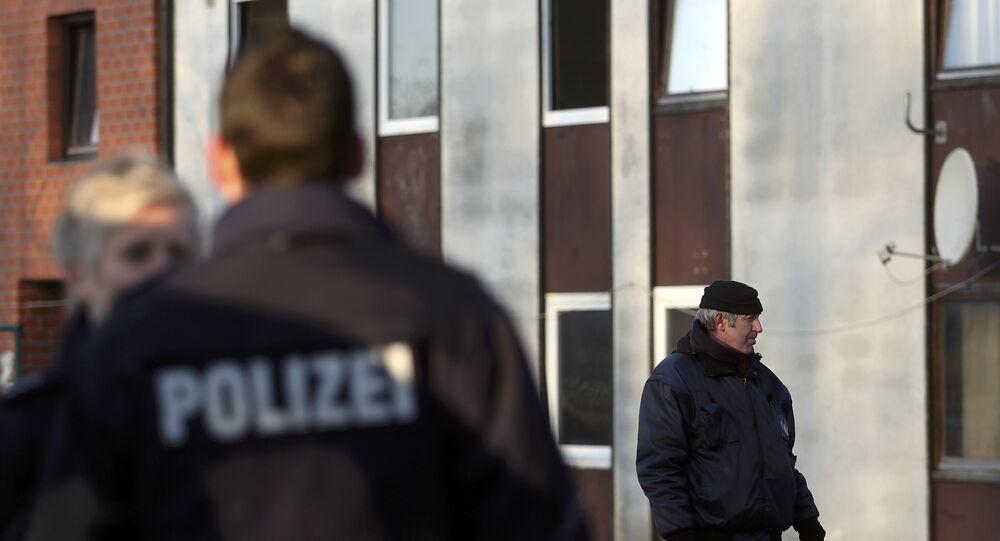La polizia tedesca