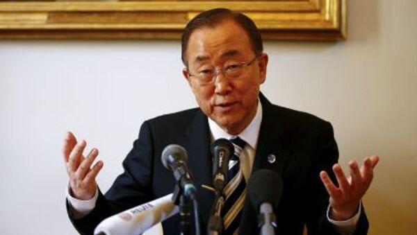 Segretario generale dellONU Ban Ki-moon - Sputnik Italia