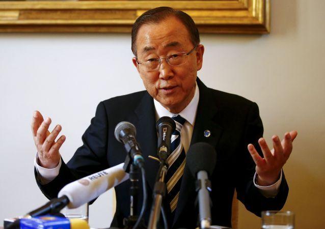 Segretario generale dellONU Ban Ki-moon