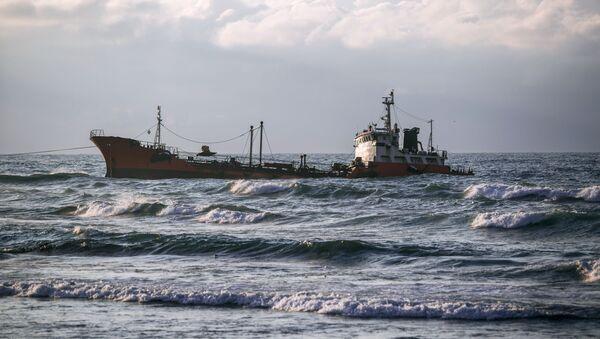 Una petroliera - Sputnik Italia