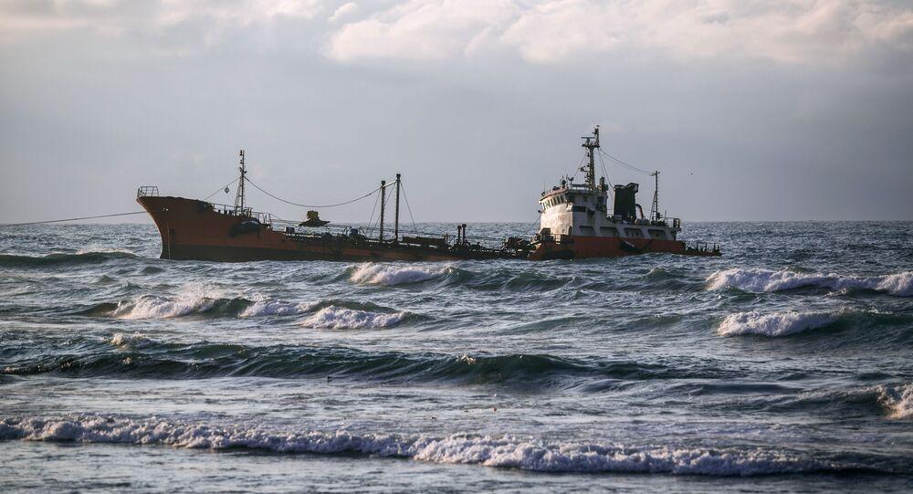 Una petroliera