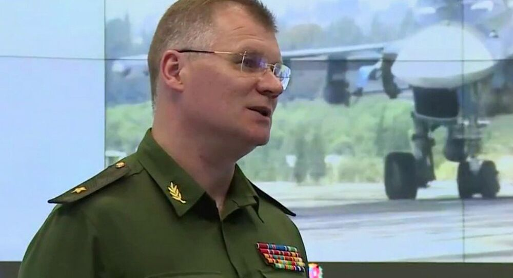 Il generale Igor Konashenkov