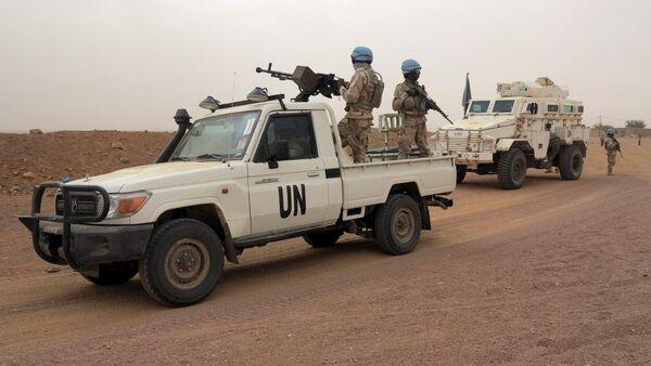 UN peacekeepers patrol in Kidal, Mali - Sputnik Italia