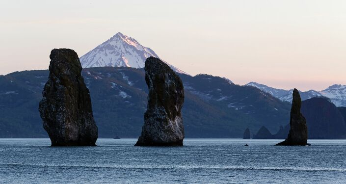 Un paesaggio della Kamchatka