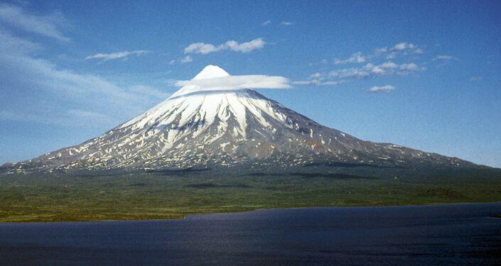 Il vulcano Kronotskaya Sopka