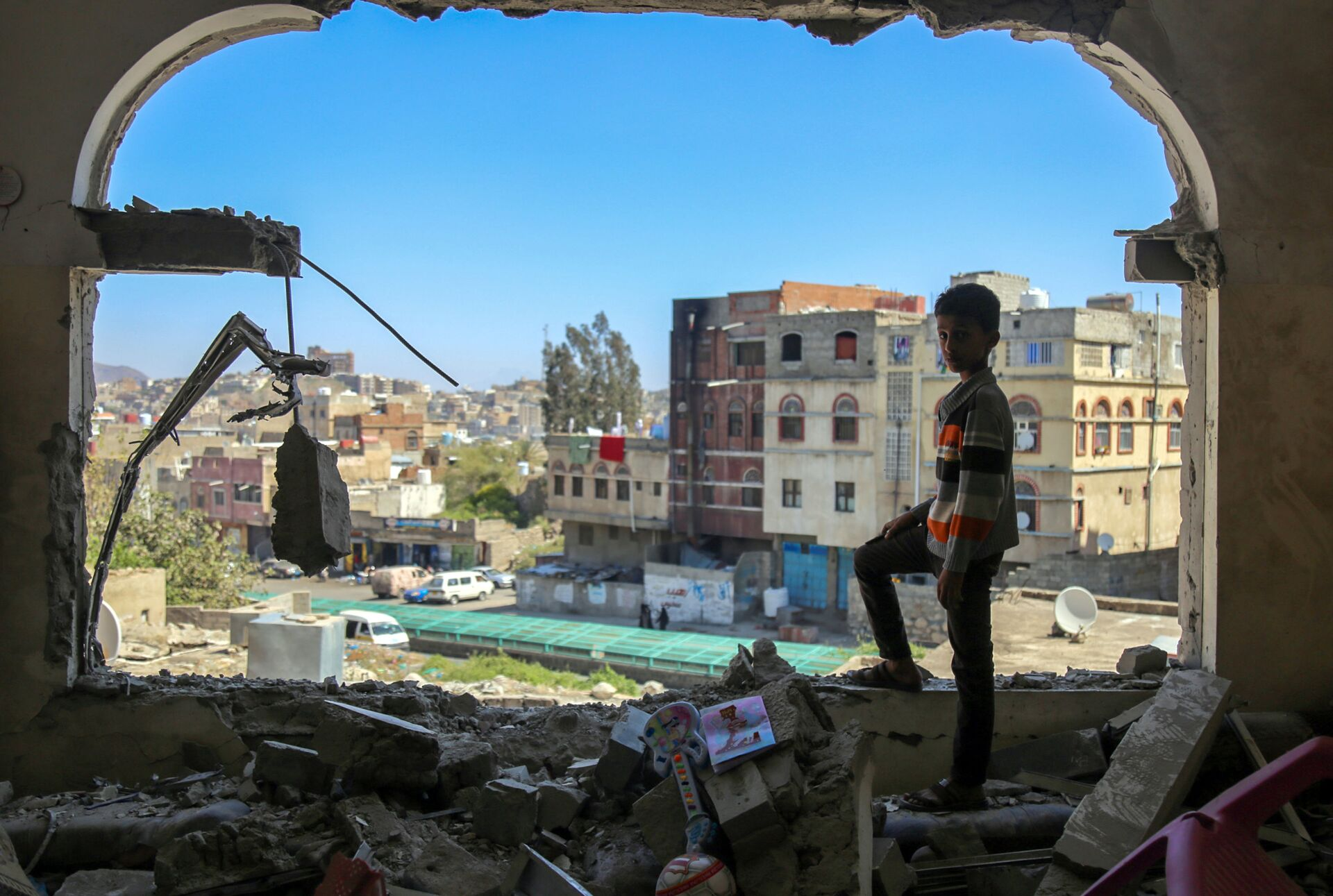 Vicino l'annuncio della fine del sostegno USA alle offensive nello Yemen - Sputnik Italia, 1920, 04.02.2021