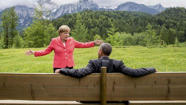 Angela Merkel e Barack Obama - Sputnik Italia