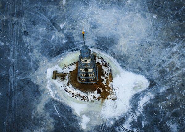 Il campanile sommerso di Kalyazin - Sputnik Italia