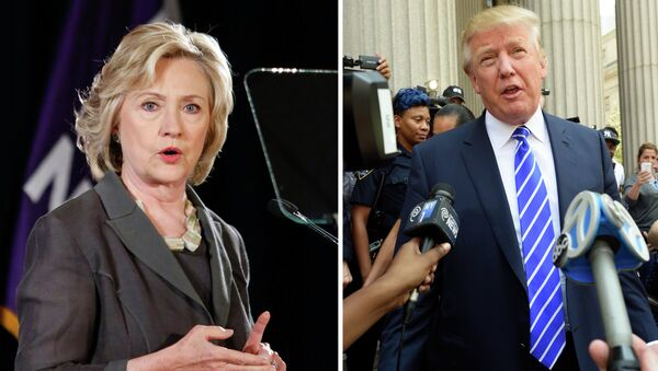 Hillary Clinton e Donald Trump - Sputnik Italia