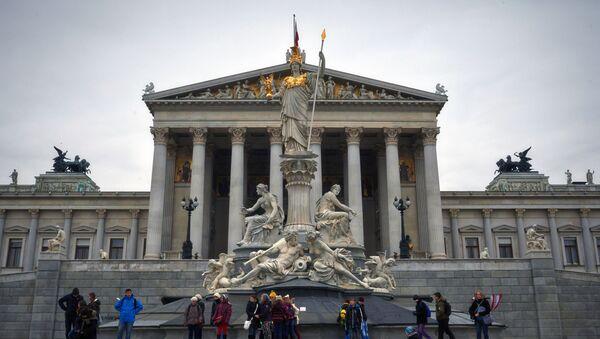 Il parlamento austriaco a Vienna - Sputnik Italia