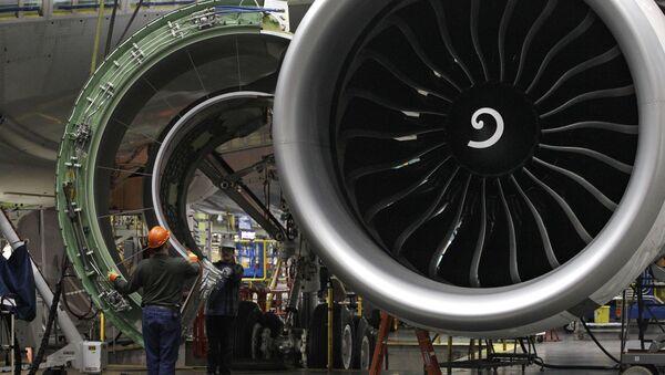 Motore di un Boeing 777 - Sputnik Italia
