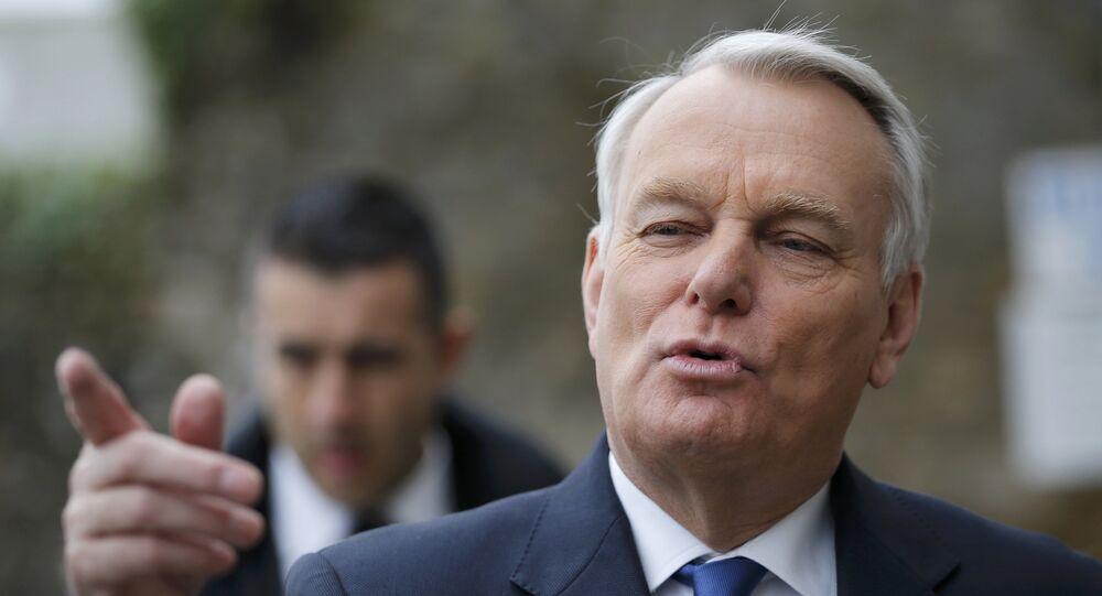 Il ministro degli Esteri francese Jean-Marc Ayrault