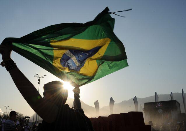La bandiera del Brasile