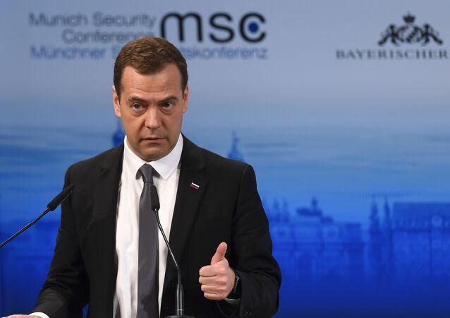 Dmitry Medvedev alla Conferenza sulla Sicurezza a Monaco