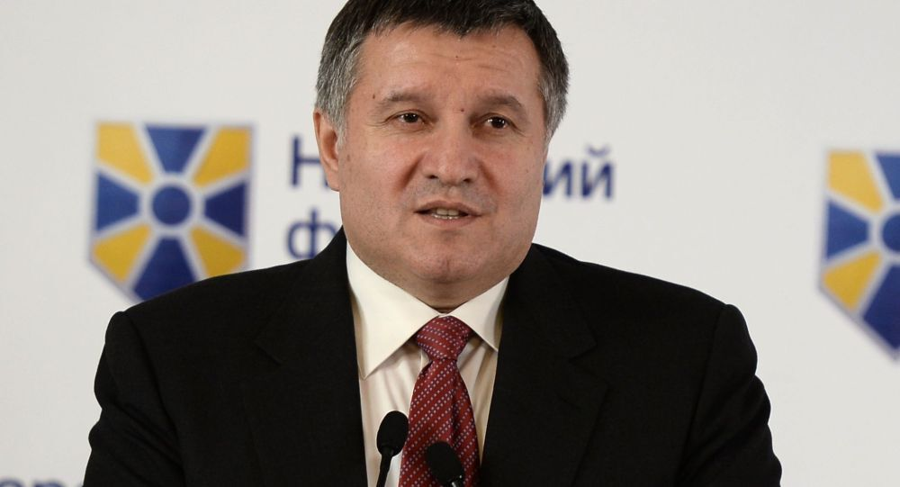 Ministro degli Interni ucraino Arsen Avakov (foto d'archivio)