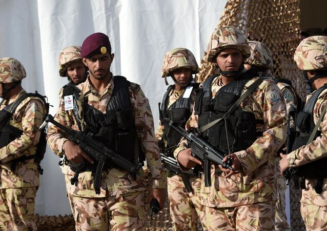 Members of Saudi Special Forces