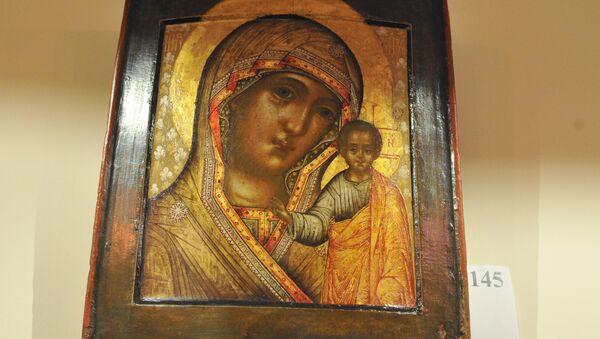 Madonna di Kazan, una delle più celebri icone russe - Sputnik Italia