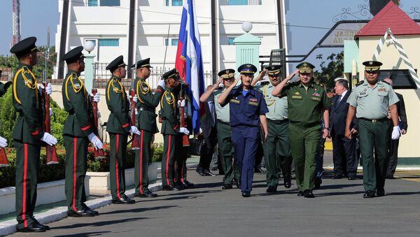 Visita del ministro della Difesa della Russia Sergey Shoygu in Nicaragua - Sputnik Italia
