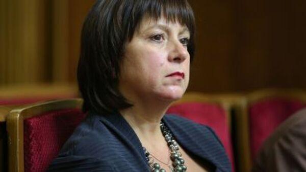 Natalia Yaresko, Ministro delle Finanze dell'Ucraina - Sputnik Italia