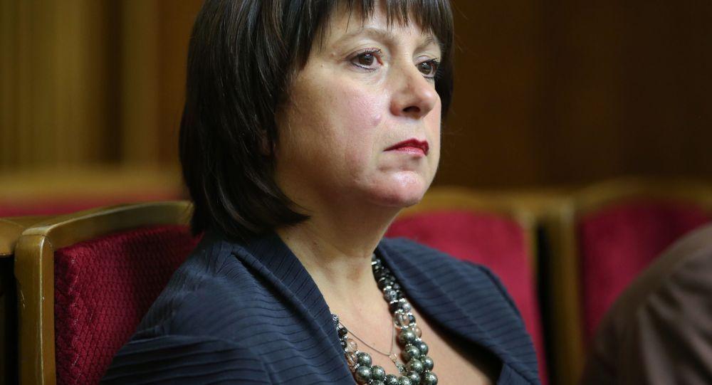 Natalia Yaresko, ministro  Finanze dell'Ucraina