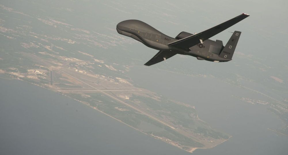 Drone americano RQ-4 Global Hawk