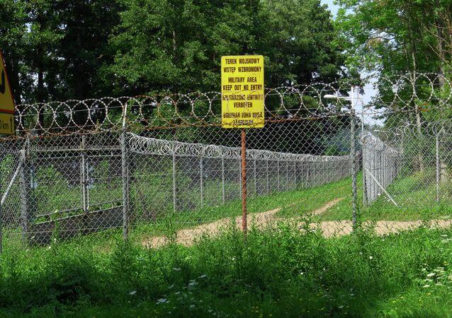 Recinto di un carcere segreto in Polonia