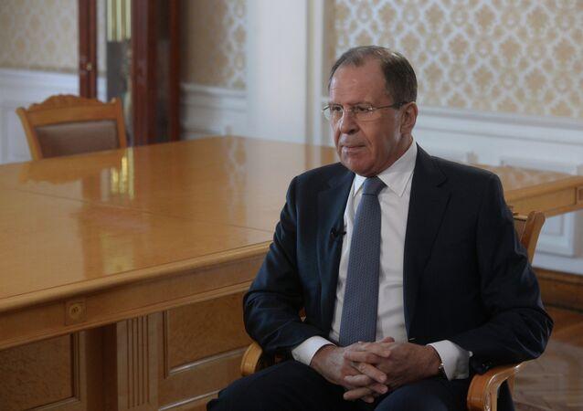 Serghej Lavrov, ministro degli Esteri