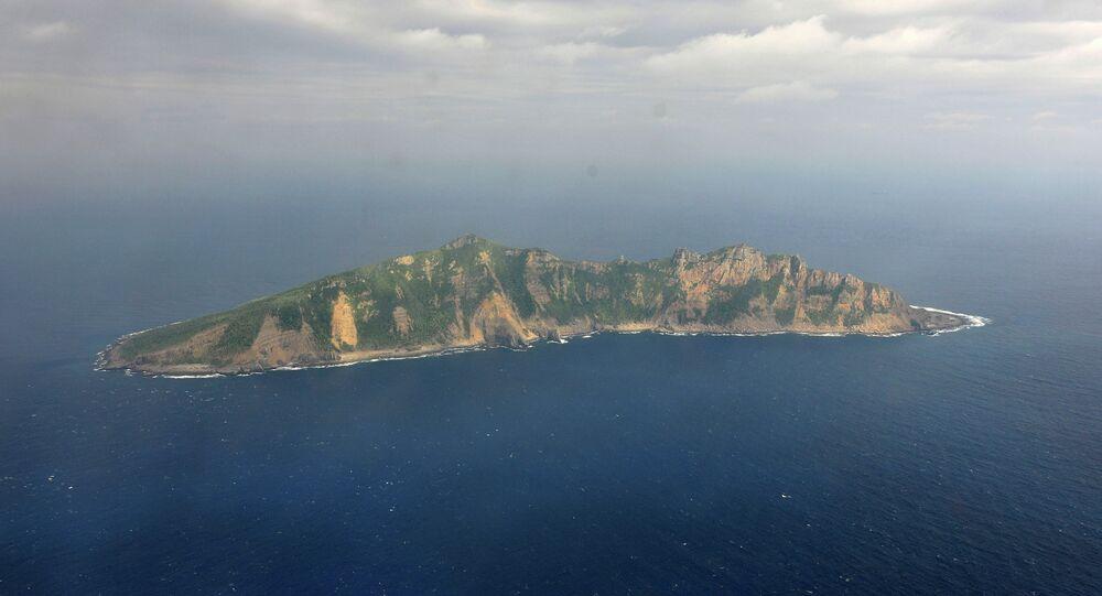 Una delle isole Senkaku
