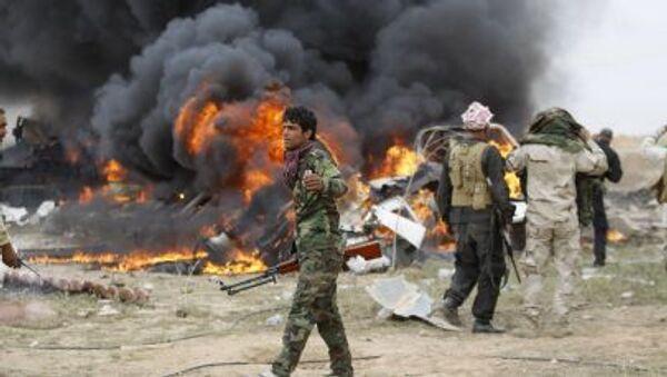 Ex numero due di Saddam, è stato ucciso dall'esercito iracheno a 40 chilometri da Tikrit, - Sputnik Italia