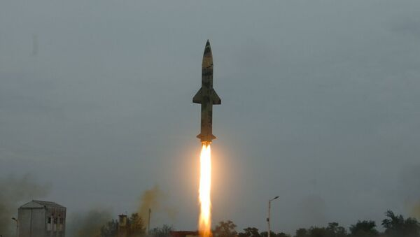 Missile indiano Prithvi-II - Sputnik Italia