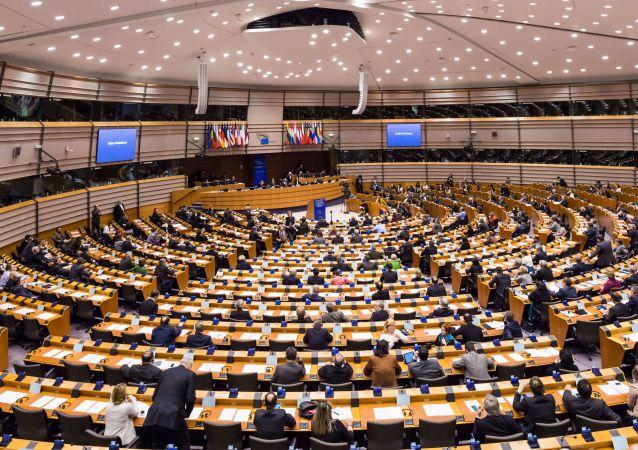 La riunione del Parlamento Europeo a Bruxelles