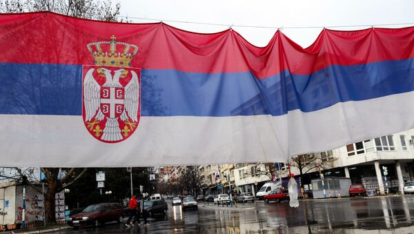 La bandiera serba - Sputnik Italia