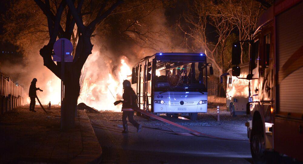Attentato terroristico ad Ankara