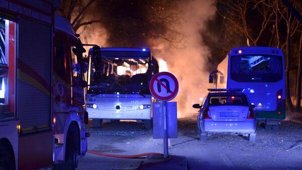 Attentato ad Ankara - Sputnik Italia