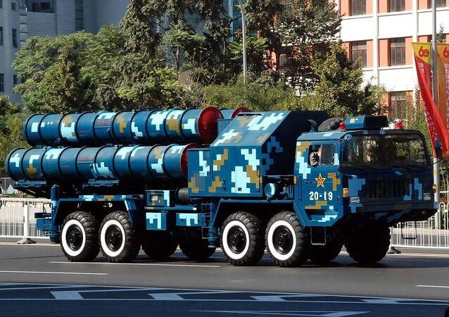 Il sistema missilistico cinese HongQi 9 [HQ-9]