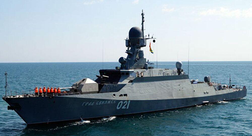 Nave russa del progetto №21631 Buyan-M