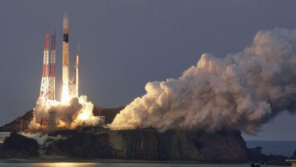 Lancio razzo con satellite ASTRO-H in Giappone - Sputnik Italia