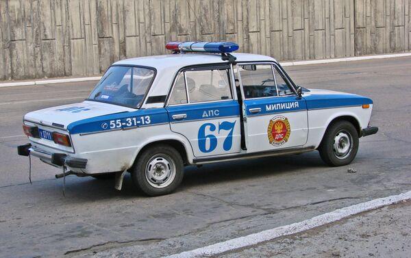 Anche la Polizia sovietica prima e russa poi, ha usato la versione russa della FIAT-124 - Sputnik Italia